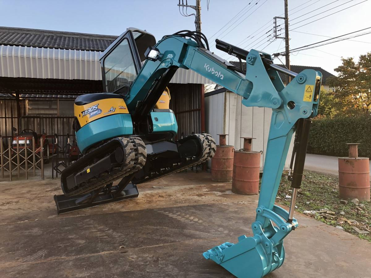 Perfect Kubota mini backhoe