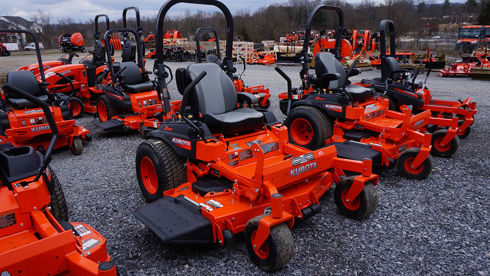 used Kubota zero turn mowers for sale