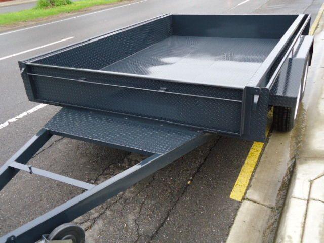 Heavy duty box trailers