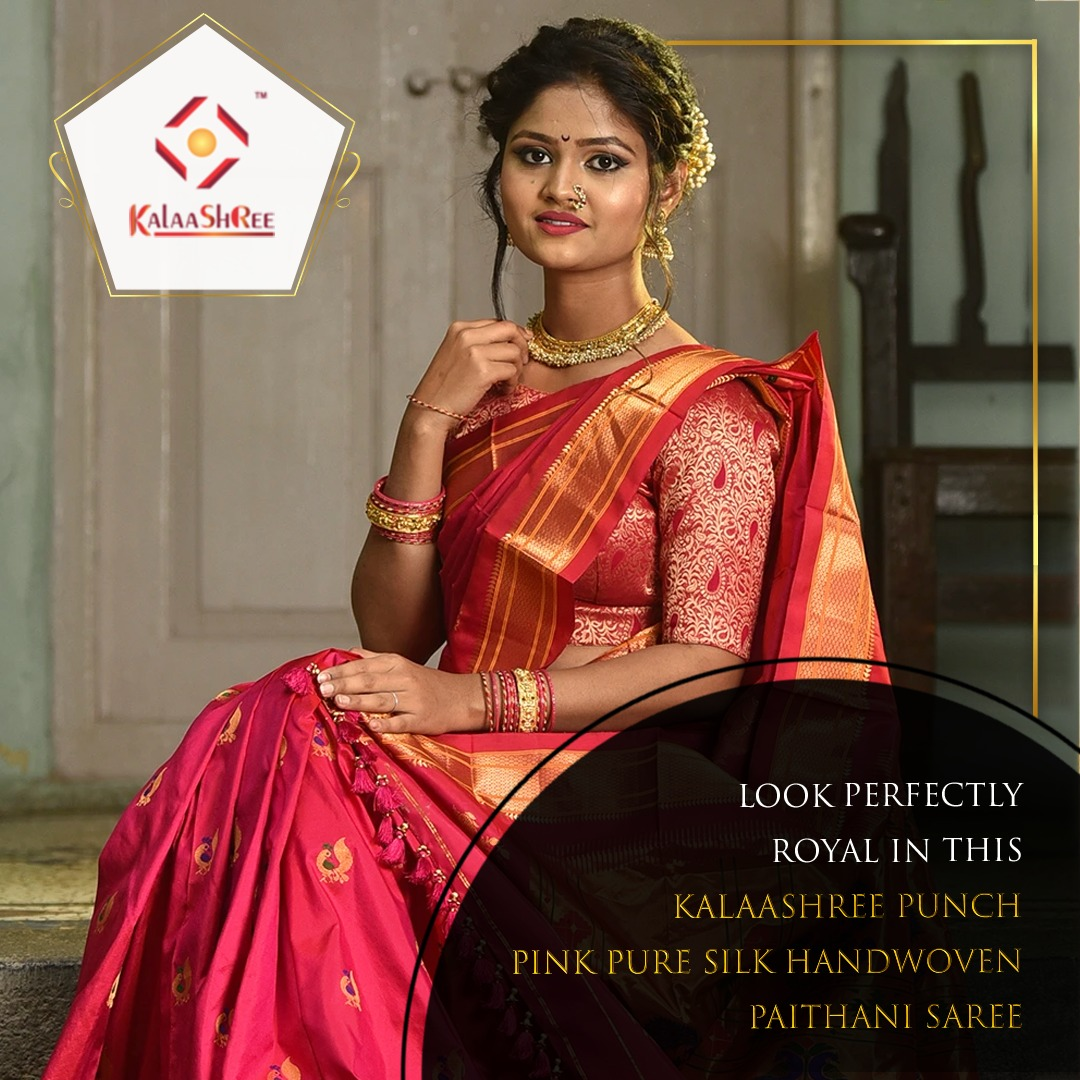 Paithani Saree - A Perfect Gift For Newly Married Woman